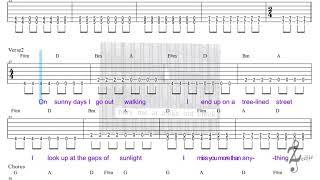 Francis Forever - Guitar (Tab, Lyrics)