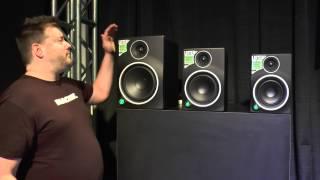 Live From NAMM 2014! Mackie MRmk3 Studio Monitors