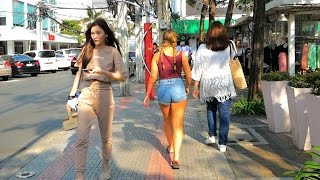 Siam Square Walk - Shopping in Bangkok - 2017 HD
