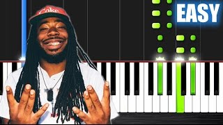 D.R.A.M feat. Lil Yachty - Broccoli - EASY Piano Tutorial by PlutaX