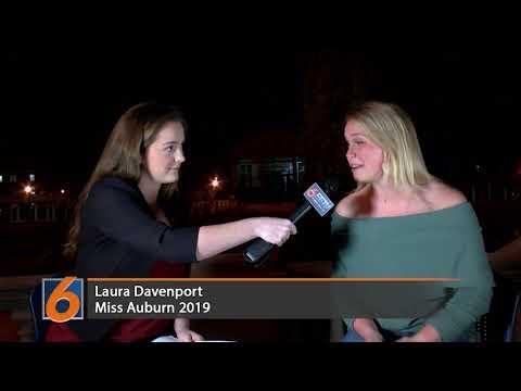 EETV interview with 2019 Miss Auburn Laura Davenport