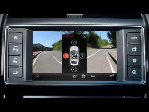 Jaguar XE 16MY | InControl Touch – Telecamera e rilevamento del traffico in retromarcia