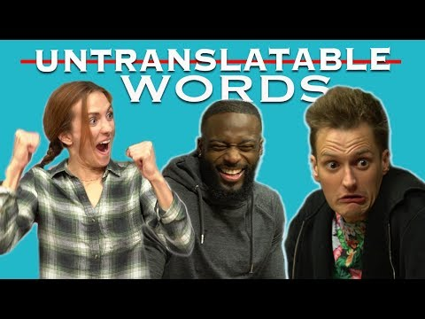 Youtubers Translate Untranslatable Words | Try To Watch This Without Laughing (Hilarious Reactions)
