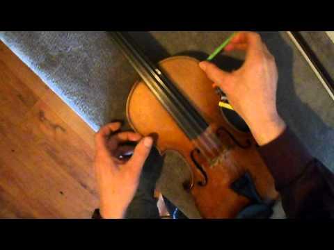 Comment jouer des notes justes au violon