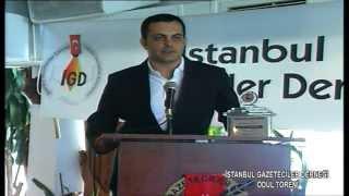 İstanbul Gazeteciler Derneği Ödül Töreni