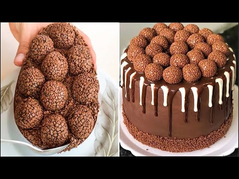 Delicious Chocolate Cake Hacks and Ideas | How To Make Chocolate Cake Decorating Ideas