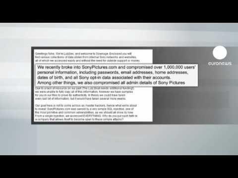 Bilgisayar korsanları Sony'e dadandı
