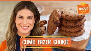Cookie com gotas de chocolate   Rita Lobo   Cozinha Prática