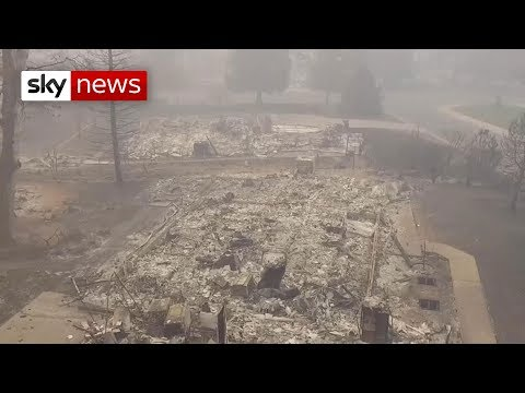 Total missing in California wildfires exceeds 600