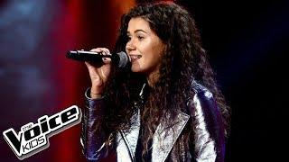 """Karolina Szczurowska – """"One Last Time"""" – Przesłuchania w ciemno – The Voice Kids Poland"""