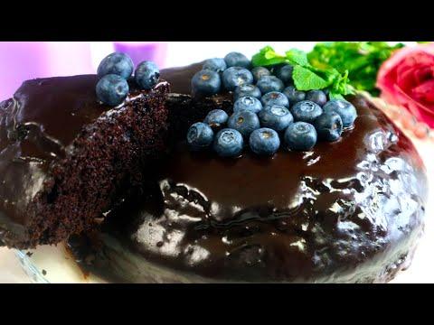 Без Миксера,Весов,Яиц,Молока,Масла!Мягкий ШОКОЛАДНЫЙ Сумасшедший пирог (Crazy Cake)Из Ничего-Шедевр