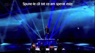 James Arthur - Impossible   sub. Ro. -- X Factor, Final