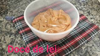 DOCE DE LEITE FÁCIL /easy dulce de leche