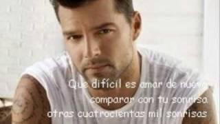 Adios Te Digo - Ricky Martin