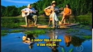 Almir Sater Introd. Lima Duarte no Pantanal - Tocando em Frente Legendado Mesquita