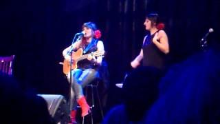 """Maria ROZALEN  y Beatriz ROMERO  concierto Badajoz  """" Soñar Contigo"""""""