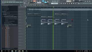 El Alfa - Uzi Pista Remake + FLP  (Prod. Hari Music) En Un Minuto