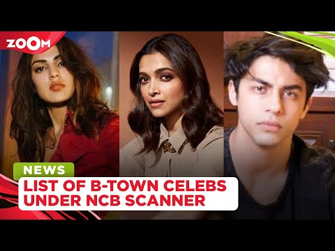 From Rhea Chakraborty to Aryan Khan, a list of Bollywood celebrities under NCB Scanner in drugs case