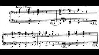 Igor Stravinsky - Tango (audio + sheet music)
