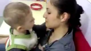 Child Kissing Girl!! width=