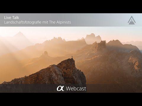 Live Talk über Landschaftsfotografie mit The Alpinists