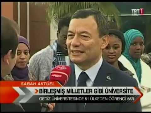 TRT 1 Sabah Haberleri Gediz Üniversitesi Röportajı