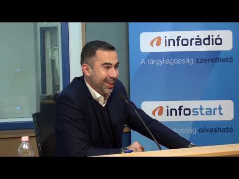 InfoRádió - Aréna - Gyulai Márton - 2. rész - 2019.11.12.