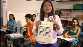Tabuada colorida foi aprovada na Universidade -  Reportagem TV Liberal