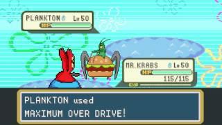 Plankton vs Mr. Krabs