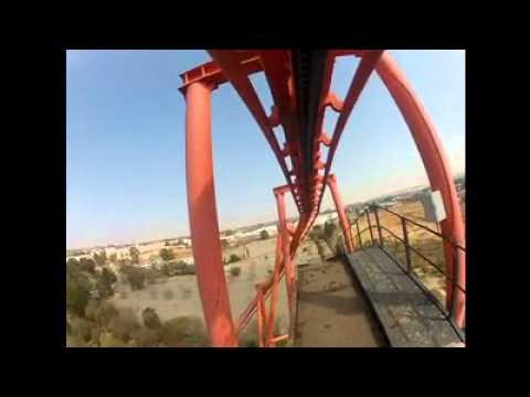 The Anaconda Roller Coaster with GoPro Hero 2 – Go