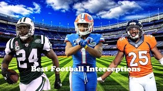 Best Football Interceptions Pt. 2 || Money and the Power ||