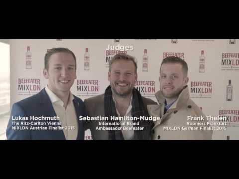 Beefeater Gin College & MIXLDN 6 Global Bartender Competition Germany / Austria Final