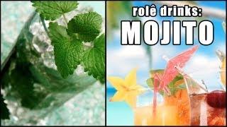 Rolê Drinks - (Tentativa de) Mojito [Com e Sem álcool!]