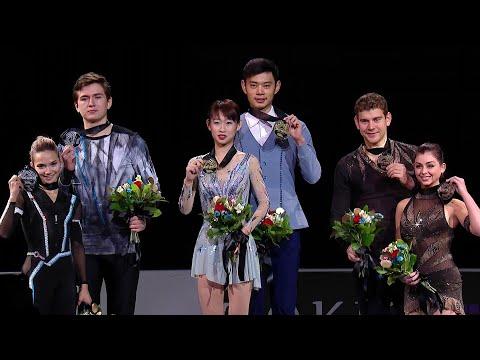 Церемония награждения. Пары. Skate America. Гран-при по фигурному катанию 2019/20
