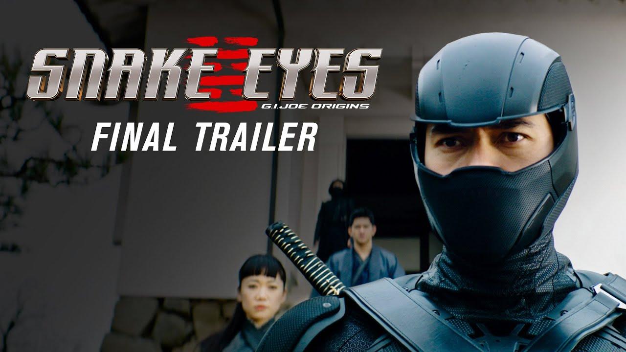 Snake Eyes: G.I. Joe Origins Trailer thumbnail