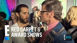 Jared Leto Remembers Heath Ledger as The Joker | E! Live from the Red Carpet