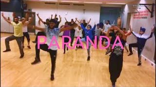 BPD Back2Basics Bhangra Classes - Paranda by Kaur B