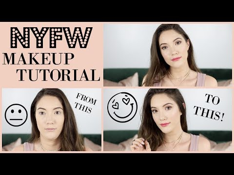 NYFW Makeup Tutorial! Perfect everyday look for any season!