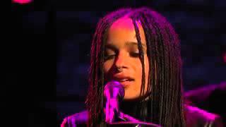 Zoe Kravitz and Twin Shadow - No Ordinary Love (Live Late Night with Seth Meyers 2015)