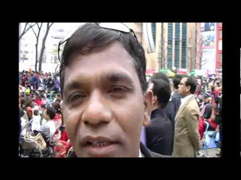 Aminul Islam Bulbul at Tokyo Boishakhi Mela 2012