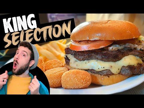 ¡LA SELECCIÓN DEL REY! Probando la NUEVA KING SELECTION de ANGUS TRUFADA CON SETAS de Burger King