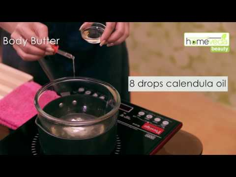 Make Body Butter At Home! | Home Spa | Quick Remedies - Homeveda Remedies