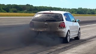 BEST VW Turbo Diesel GTD TDI Golf Polo SOUND & SMOKE Compilation
