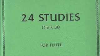 Joachim Andersen 24 Studies Op.30 For Flute Number 23. (F major)