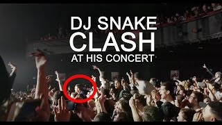 Get Low - DJ Snake Concert Paris (DJ Snake clash someone)