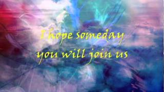 Imagine (Cover of John Lennon Song) - Sam Tsui & AHMIR (lyric video)
