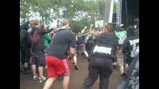 Nuclear Vomit live @ Death Feast 2011 - Circle Pit