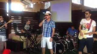 Soda Caustica rock-band live Music performing Bambole (Negrita)