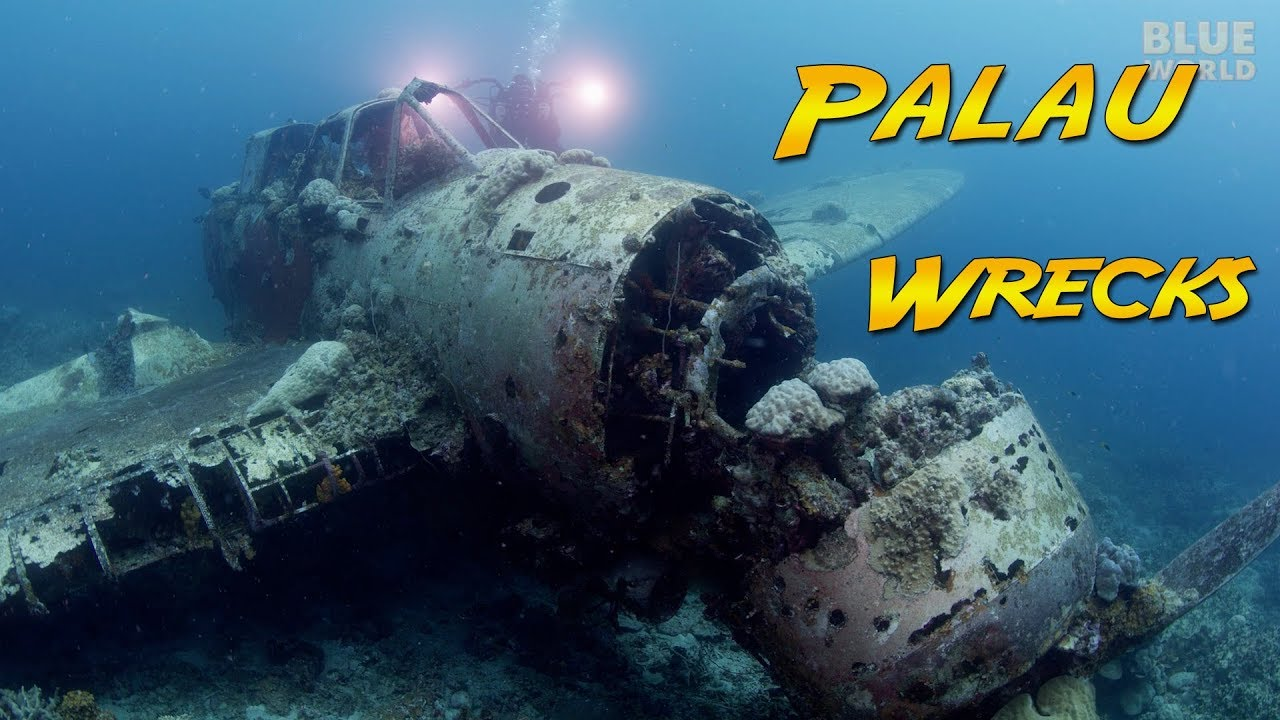 War Wrecks of Palau - Pacific WW2