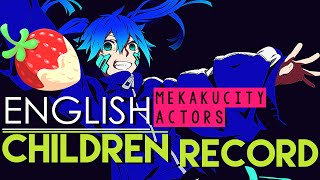 """Children Record"" -  Kagerou Project  (ENGLISH Cover by Sapphire & Y. Chang)"